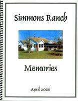 Simmons Ranch Memories
