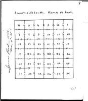 1846 Sectional Survey of Township 32S, Range 19E