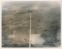 Aerial View of US 301 at Wimauma Road 1959