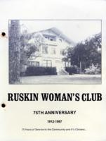 75th Anniversary Ruskin Woman's Club